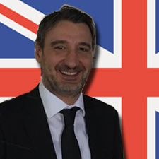 NEW Sales Office in UK: Giuliano Cassataro (Nordic Area Manager)
