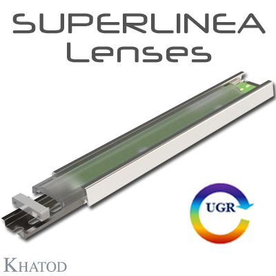 SUPERLINEA - 中等功率LED用的透镜