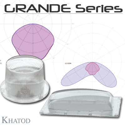 GRANDE SERIES - Optics for COB or Power LEDs Array