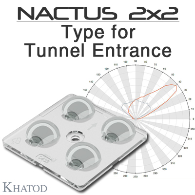 KNAC0433ASM - NACTUS 2x2 SMALL - Module dimensions: 50mm x 50mm side | 9.25mm height