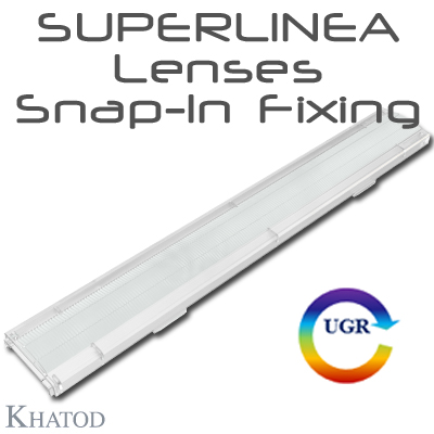 Lenti SUPERLINEA per LEDs Mid Power - Snap-In Fixing
