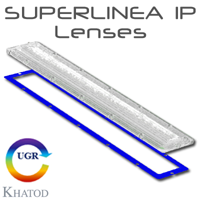 SUPERLINEA IP Lenses für Mid Power LEDs | Lenses für den IP-Schutz