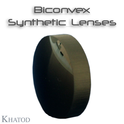 Lenses for IR LEDs: Biconvex Synthetic Lenses