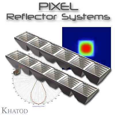 PIXEL Reflector Systems for HB LEDs