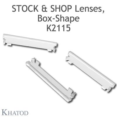 K2115 Plastic end plugs Stock and Shop, Box-Shape