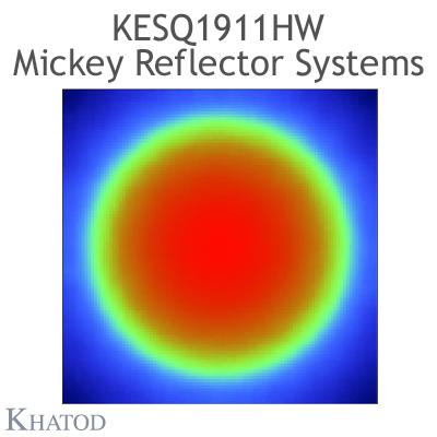 KESQ1911HW Mickey Reflector Systems - 90° FWHM - 34,99mm diameter - 15,90mm height