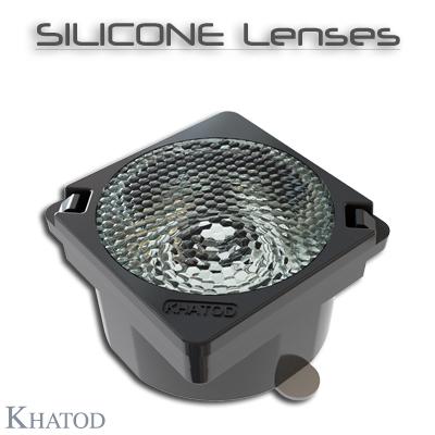 Lentes de silicona: Lentes individuales de silicona con cinta autoadhesiva