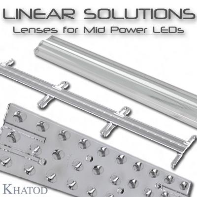 Optisches Systeme für Mid Power LEDs: Lineare Lösungen