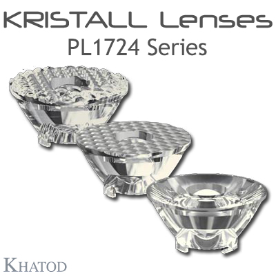 Kristall Lenses for COB LEDs - PL1724 Series