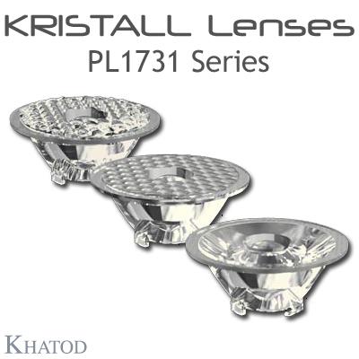 Kristall Lenses for COB LEDs - PL1731 Series