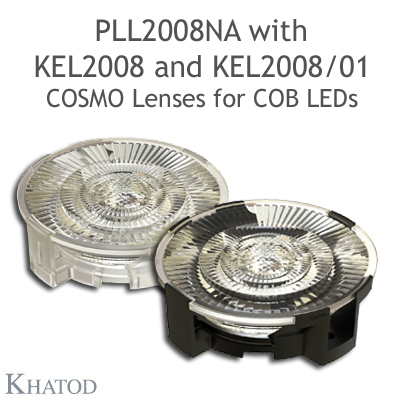 KEL2008 - Holder for PLL2008xx - Available in clear transpartent and black verions