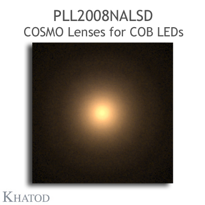 PLL2008NALSD COSMO Lenses - Narrow Beam with Frosted Finish - 19° FWHM