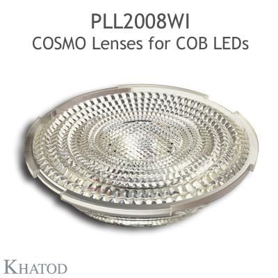 PLL2008WI COSMO Linsen - 89.87mm Durchmesser - 18.07mm Höhe -  weitstrahlig - 45° FWHM