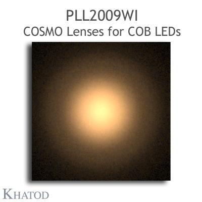 PLL2009WI COSMO Linsen - 69.86mm Durchmesser - 14.43mm Höhe -  weitstrahlig - 35° FWHM