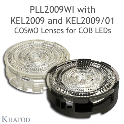 KEL2009 - Holder for PLL2009xx - Available in clear transpartent and black verions