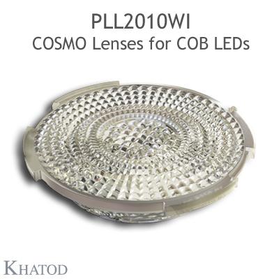 PLL2010WI 用于COB LED的COSMO透镜 - 49.98Mm 直径 - 10.33mm 高度 -宽光束 - 38° FWHM