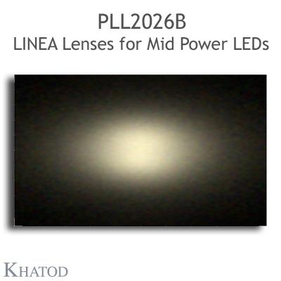 PLL2026B LINEA Lenses Extrabreiter Abstrahlwinkel - 60° Halbwertsbreite