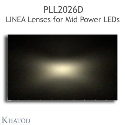 PLL2026D Linea Lenses - Asymmetrical Beam - 35° FWHM