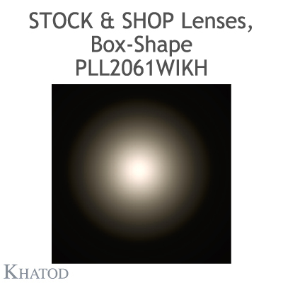PLL2061WIKH - 11x3 Stock and Shop Linsen, Box-Shape - 30° FWHM