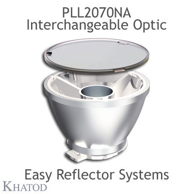 PLL2070NA Interchangeable Optic compatible only with KCLP1858CR EASY Reflector Systems