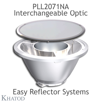 PLL2071NA Interchangeable Optic compatible only with KCLP1859CR EASY Reflector Systems