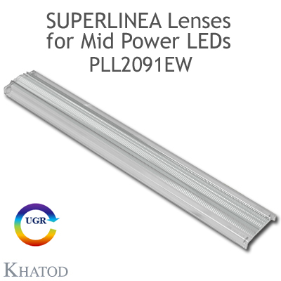 PLL2091EW SuperLinea Lenses - Extrabreiter Abstrahlwinkel - 60° FWHM