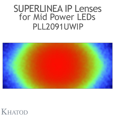 PLL2091UWIP SuperLinea Lenses - Ultra Wide Beam - 90° FWHM