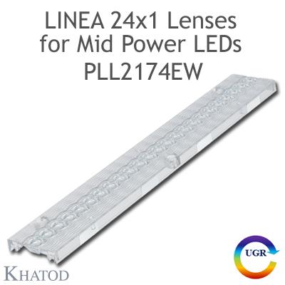 PLL2174EW Lenti Linea 24x1 - 60° FWHM Fascio Extra Largo