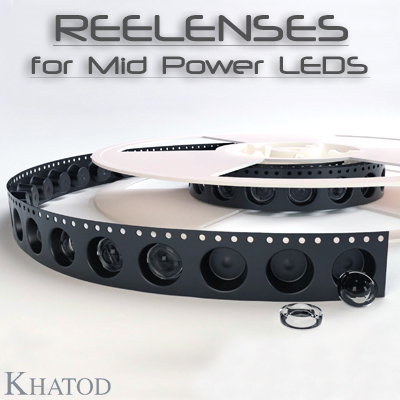 Optical Systems for Mid Power LEDs: REELENSES for Mid Power LEDs