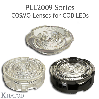 COSMO Lenses for COB LEDs - 69.86mm diameter - 14.43mm height