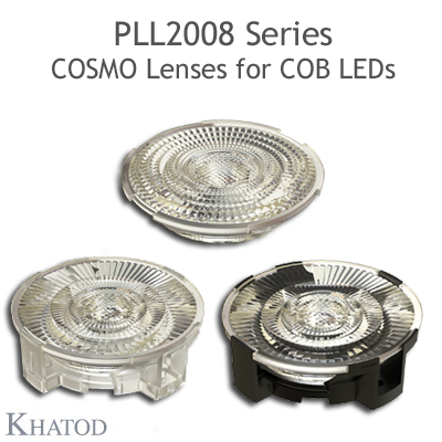 COSMO Lenses for COB LEDs - 89.87mm diameter - 18.08mm height
