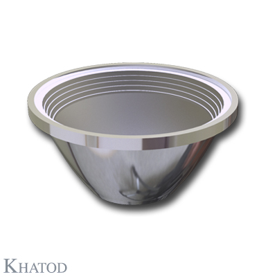 Round Reflectors for COB LEDs - 65,00mm diameter - 31,00mm height