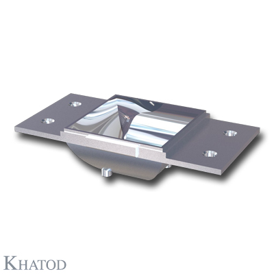 Rectangular Reflector for Power LEDs - Ultra Wide Beam