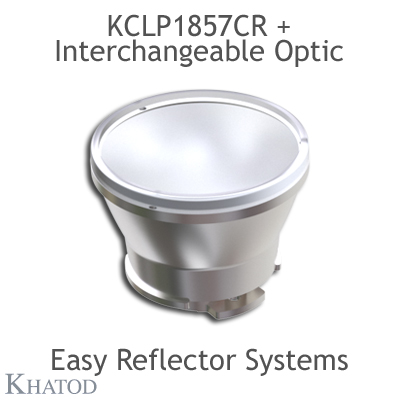 Reflectors without connector for COB LEDs - 49,90mm diameter - 41,31mm height - Narrow Beam