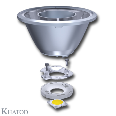 Reflectors for COB LEDs - 109,80mm diameter - from 63,60mm to 65,74mm height