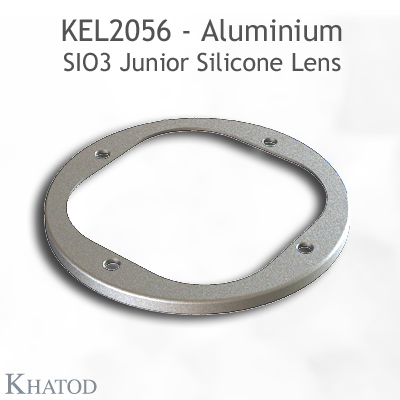 Silicone Lens for COB LEDs - 85.09mm diameter - 19.30mm height - IESNA Type II