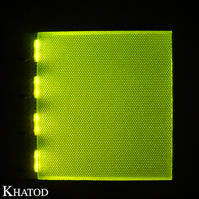 LCD Sidelight Backlight with PTH LEDs; 12,7mm pitch