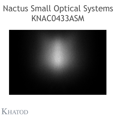 Nactus SMALL Optical System with 4 Lenses - Module dimensions: 50,00mm x 50,00mm - Lens pitch: 25,40 mm - Tunnel Entrance