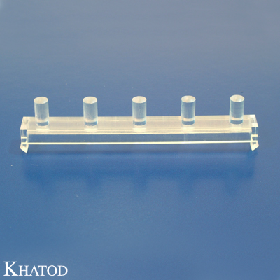Vertical Light Transporter for 5 SMD LEDs