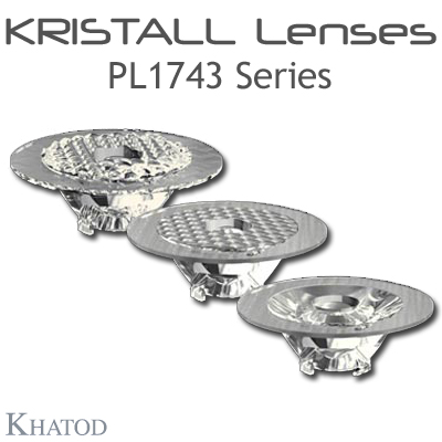 Single Lenses for COB LEDs - 110,00mm diameter - 35,00mm height