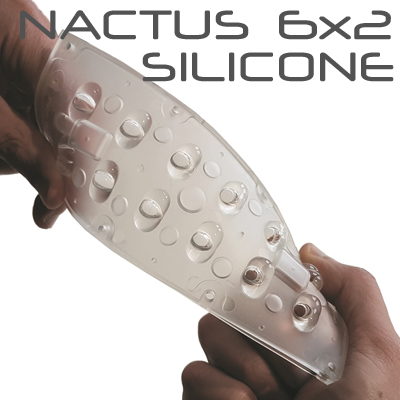 NACTUS 6x2 Silicone Optical Systems with 12 Lenses - 168.78mm x 68.18mm side - Lens pitch 25,40 mm