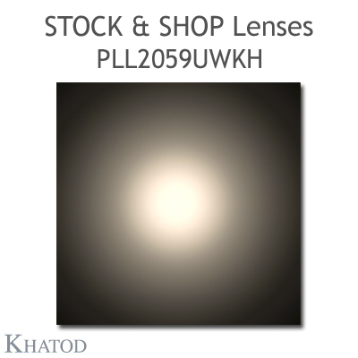 "Optical panels for Mid Power LEDs - 286mm x 60mm side, 7.17mm height - 90° FWHM - ""STOCK and SHOP Lenses"""