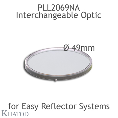 Interchangeable Optic for EASY Reflector Systems - 49.80mm diameter - 4.00mm height
