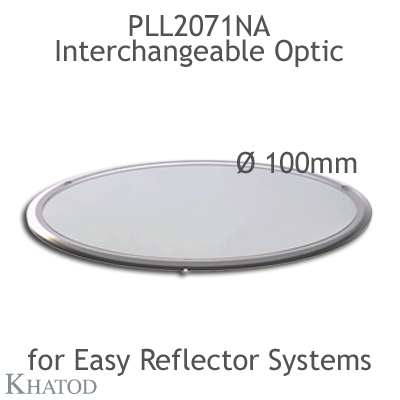 Interchangeable Optic for EASY Reflector Systems - 100.40mm diameter - 3.50mm height