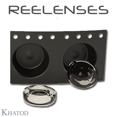REELENSES for Mid Power LEDs - 11.95mm diameter - from 4.78mm to 5,95mm height