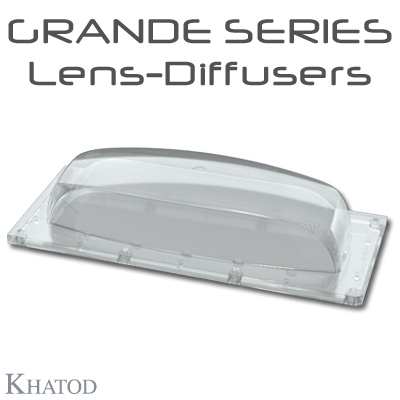 Optics for COB or Power LEDs Array - 172.98mm x 71.38 side - 36.07mm height
