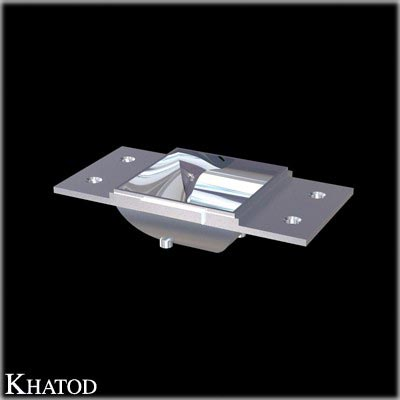 Rectangular Reflectors for Power LEDs - 41,00mm x 21,00mm side - 11,00mm height