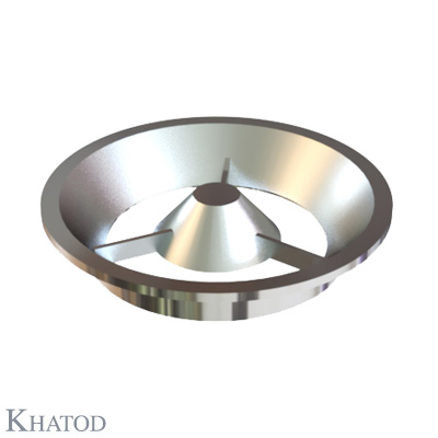 Round Reflectors Low Profile for Power LEDs - 95,00mm diameter - 16,50mm height