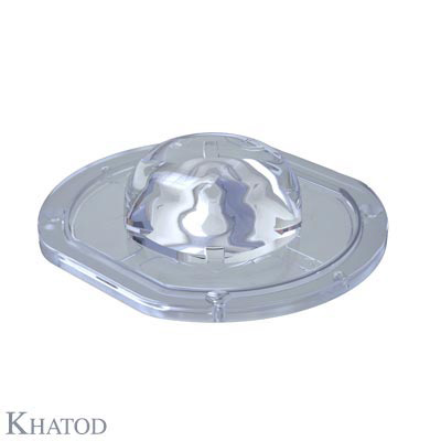 Silicone Lenses for COB LEDs - 100,00mm x 111,00mm side - 30,68mm height