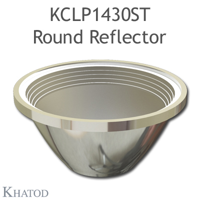 Round Reflector for COB LEDs; Medium Beam